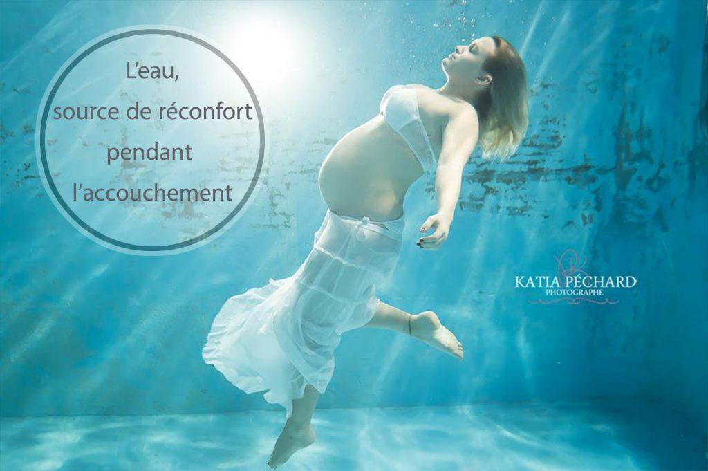 L eau source de r confort pendant l accouchement cocoon for Accouchement en piscine