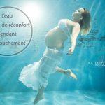 L'eau, source de réconfort pendant l'accouchement