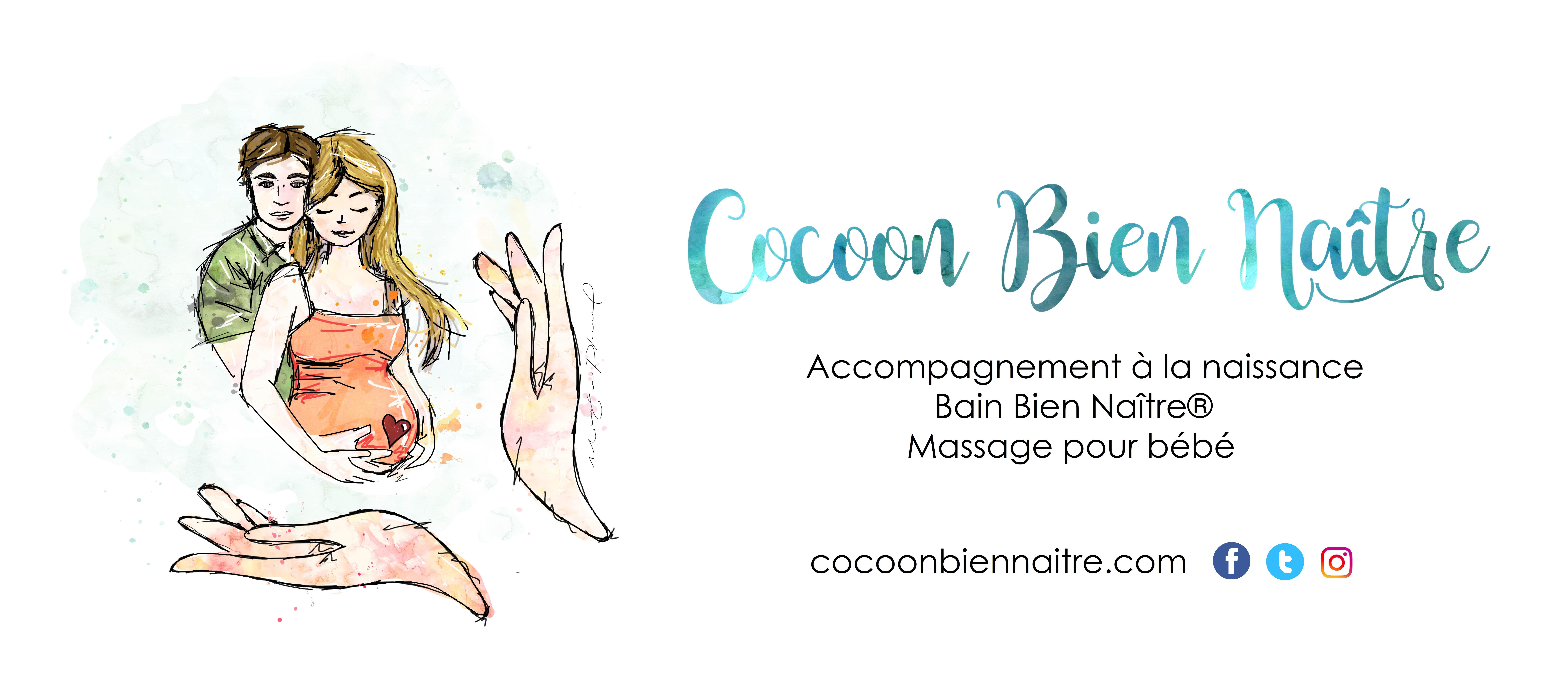 Cocoon Bien Naître | accompagnante | cours prénataux | Bain bébé