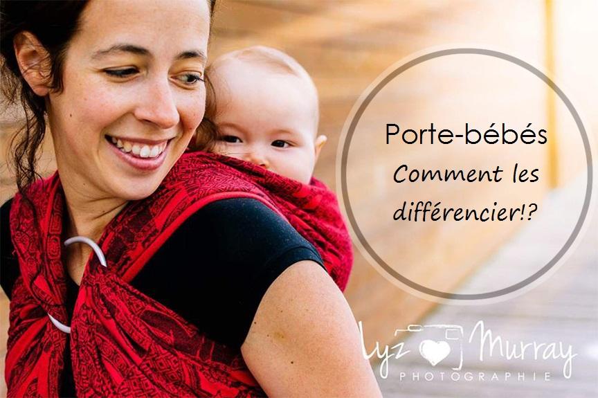 4d4e2f67ce03 Les porte-bébés  comment les différencier!  - Cocoon Bien Naître ...