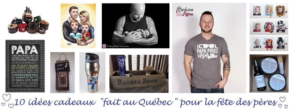 """10 cadeaux """"fait au Québec"""" pour la fête des pères   Cocoon Bien Naître"""