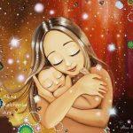 La maternité sous le pinceau d'Alena Kalchanka