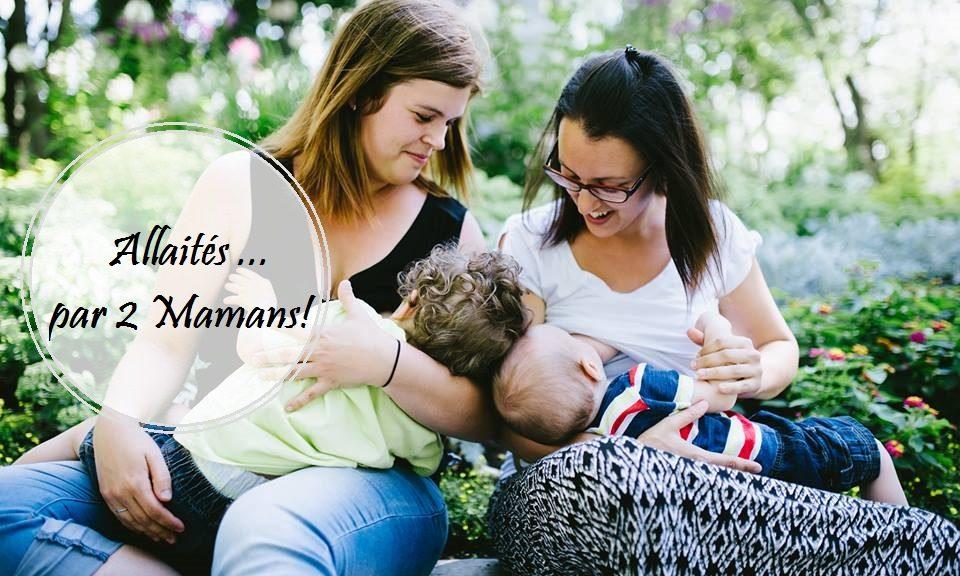 Allaités par 2 mamans   SMAM 2016   Cocoon Bien Naître