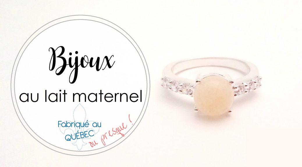 Bijoux au lait maternel La Joie en Rose | Cocoon Bien Naître