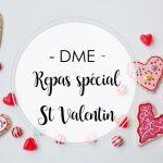 DME – repas spécial St Valentin – par Sandra Griffin, nutrionniste