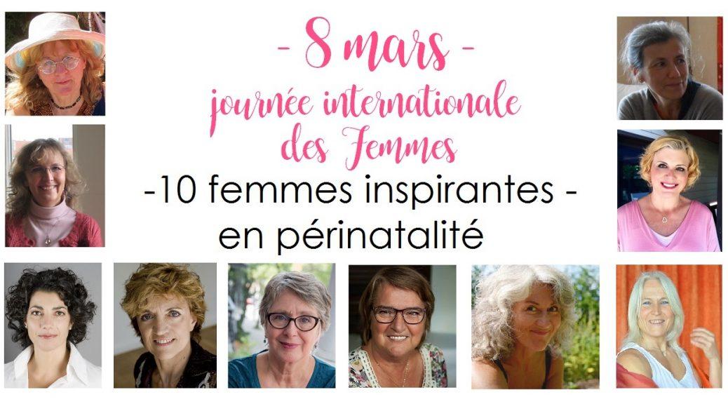 8 mars, journée internationale des femmes - 10 femmes inspirantes en périnatalité | Cocoon Bien Naître