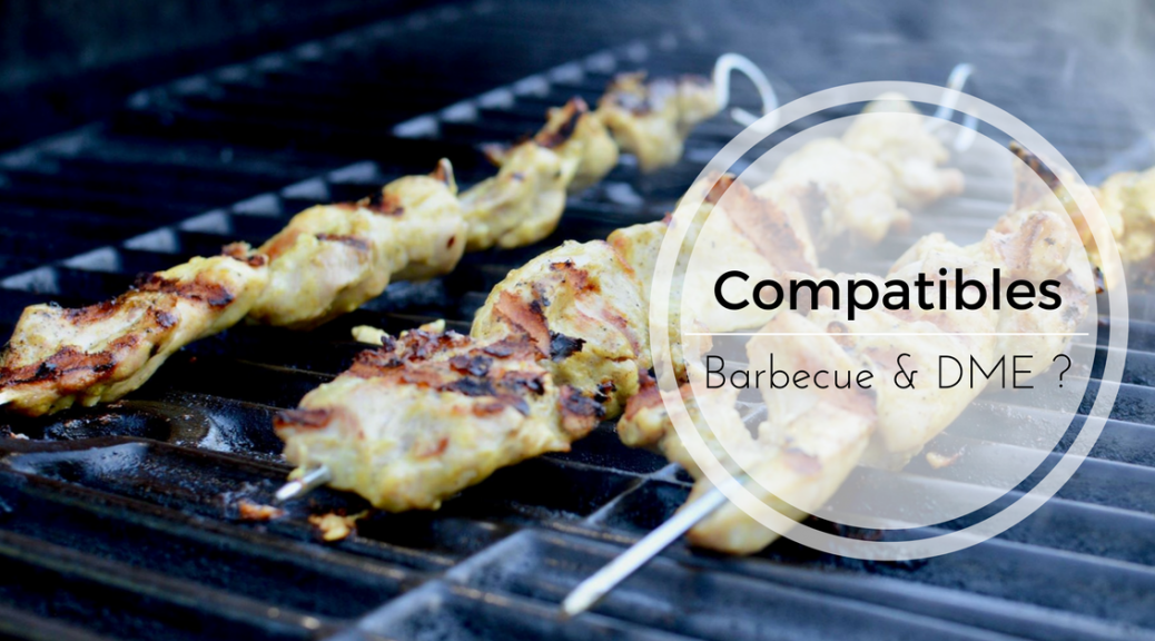 Compatibles, le barbecue et la DME ? par Jessica Coll | Cocoon Bien Naître