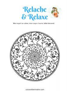 3 mantras + mandalas pour la grossesse | Cocoon Bien Naître