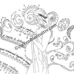 Illustration de grossesse | Cycle lunaire | Cocoon Bien Naître