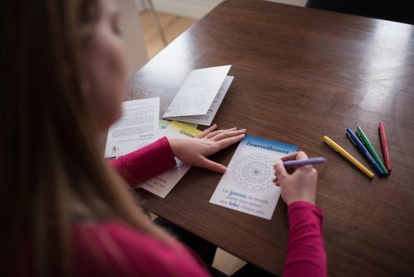 cartes bien-naître mandalas | affirmations positives accouchement | cocoon bien naître